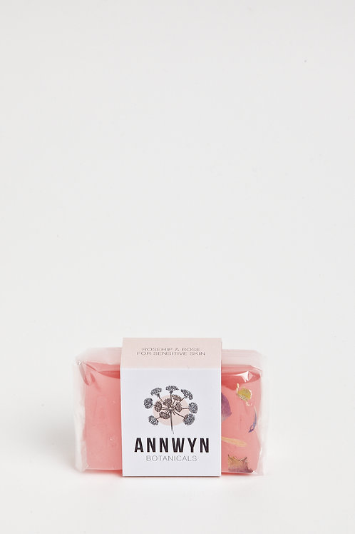 Rosehip & Rose Block Soap for Sensitive Skin