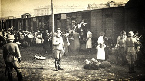 Deportation of Volga Germans පිටුවහල් කිරීම