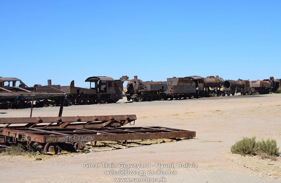 Uyuni Salt Flats - Bolivia.