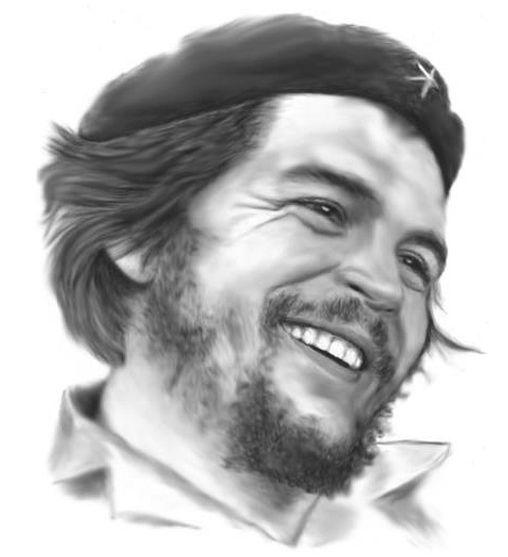 Che-Guevara-Face-Pencil-Art-HD-Wallpaper