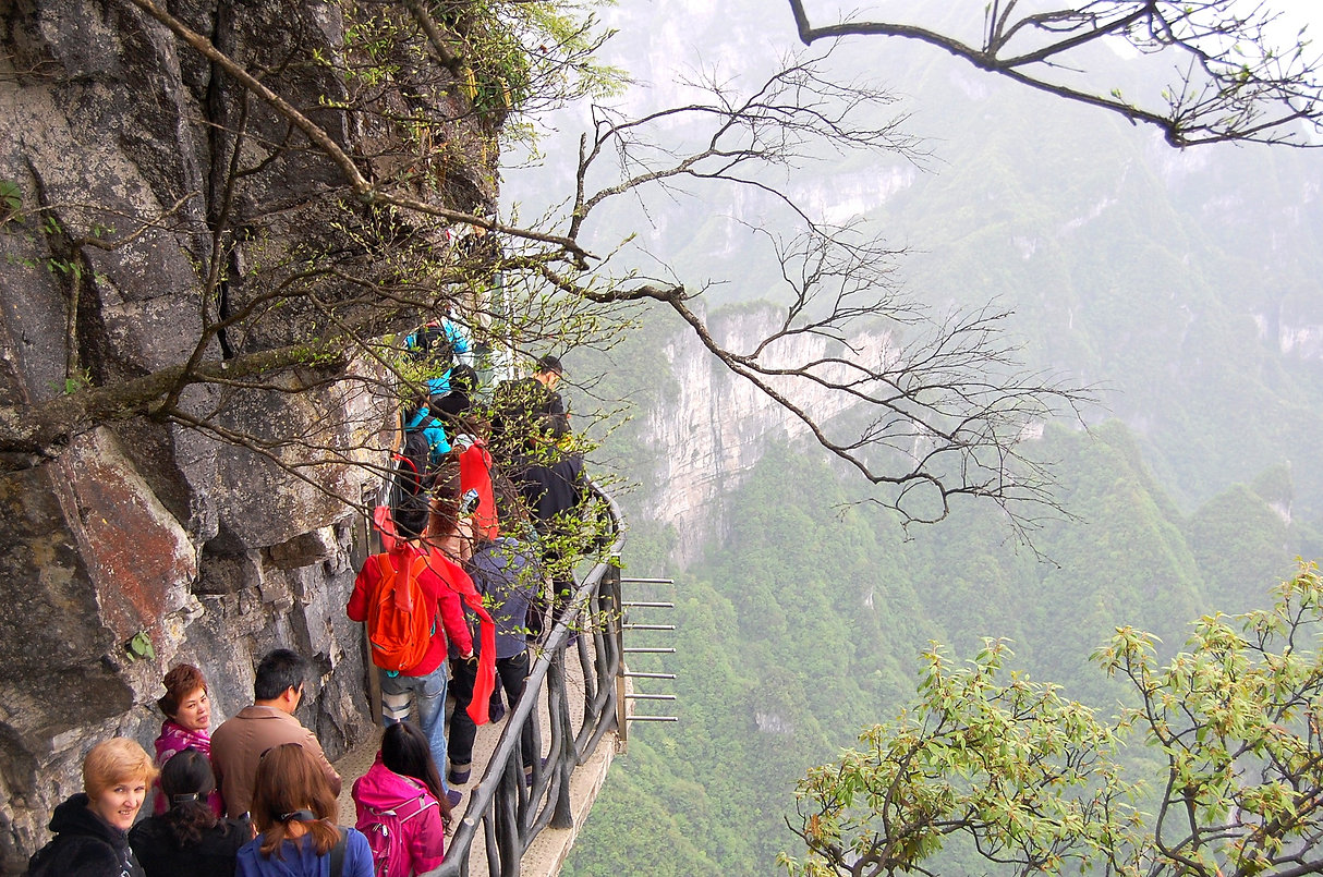 """Avatar"" Mountain & Wulingyuan Scenic Area, Zhangjiajie, China"