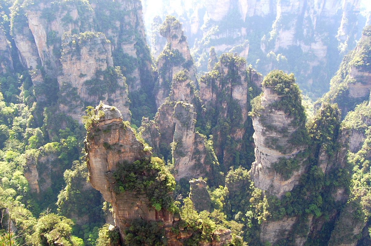 "Avatar"" Mountain & Wulingyuan Scenic Area, Zhangjiajie, China"