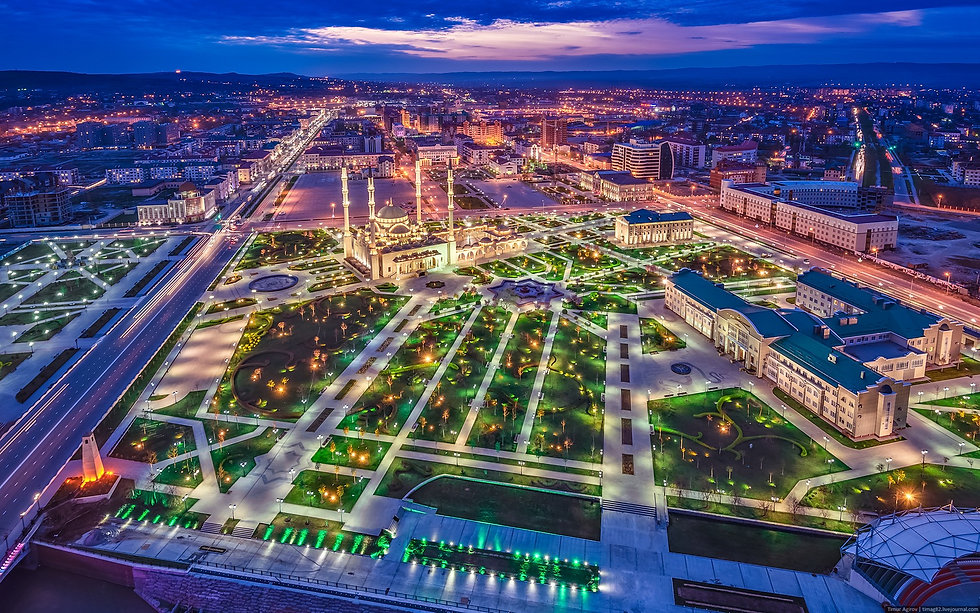 grozny-city-russia-from-above-night-view