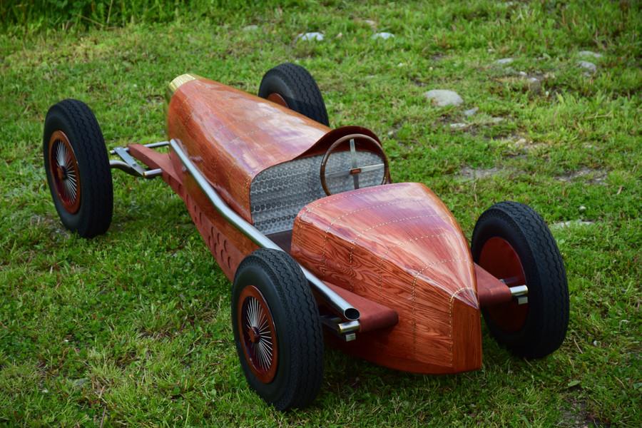 Bugatti car art - Type 59 - Etienne Franzak
