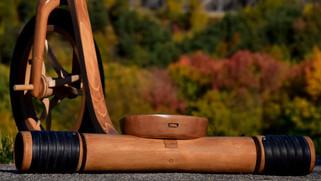 Wooden drift trike by Etienne Franzak