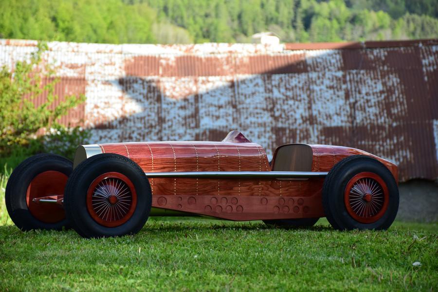 Bugatti Sculpture - Automotive Art by Etienne Franzak