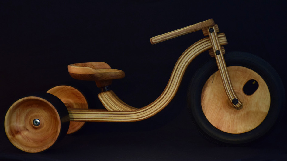 Tricycle en bois Made in France Etienne