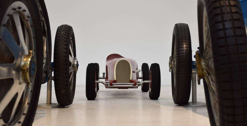 Automotive Sculpture Art by Etienne Franzak . Bugatti Type 59 Sculpture