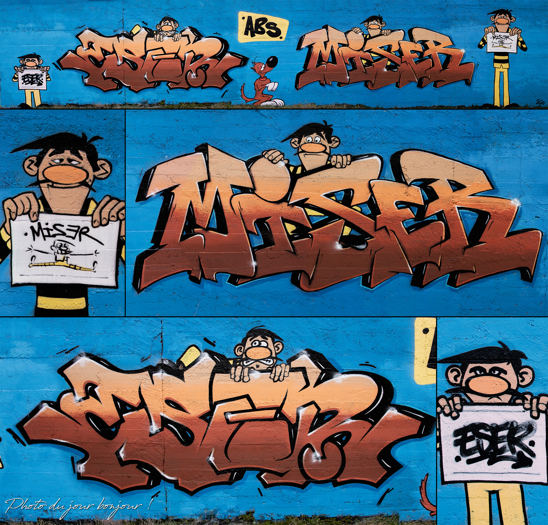 Graff by Miser & Eser
