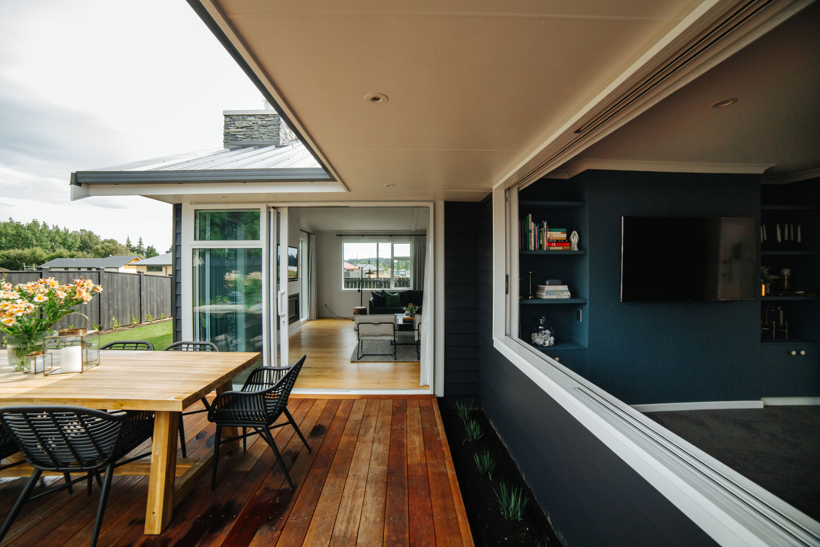 McBrimar Show Home media room window