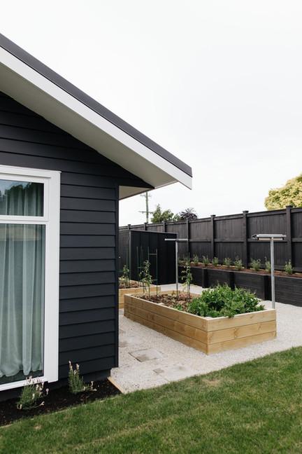 McBrimar Show Home vegetable garden