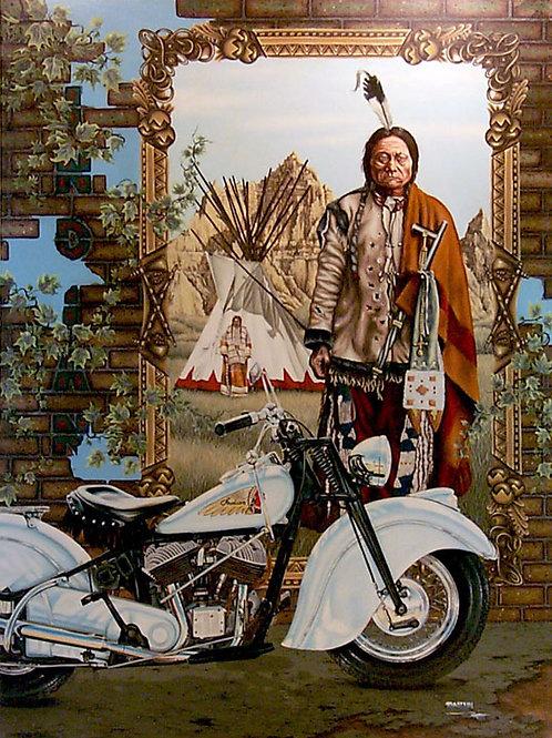 Indian Motorcycle -Original Oil