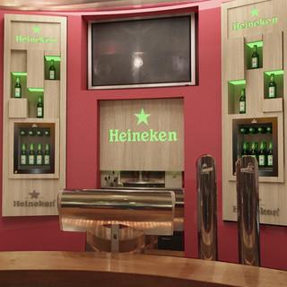 Heineken Backbar 2