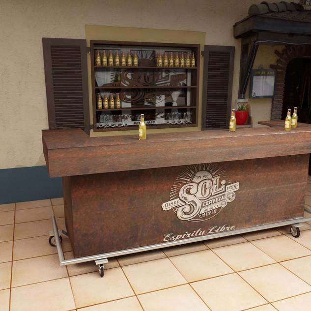 Sol Bar und Backbar