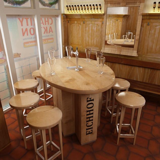 Eichhof Bar und Zapfhahn