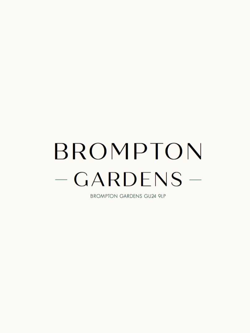 Bropmton Gardens Property Marketing Package for Property Developers