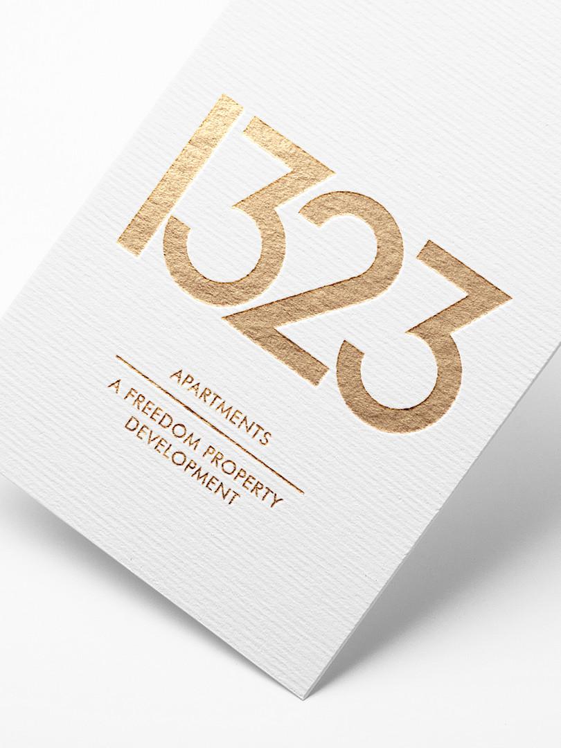 1323 Whetstone | Branding