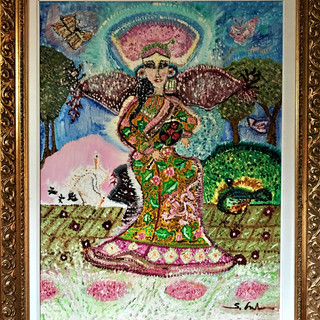 10. Dama Mancese sul trono (80x100).jpg