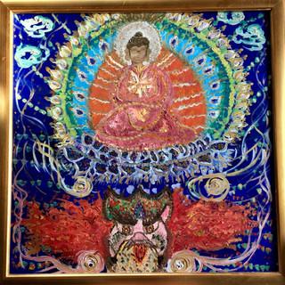 21. Fire Buddha (50x50).jpg