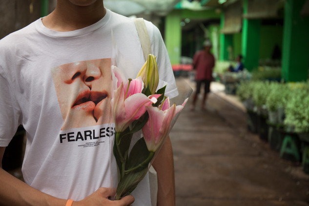 Indonesia, West Jakarta, Rawa Belong Flower Market / The Secret Life of Flower/ Lily