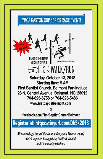 5th annual 5k run walk for missions