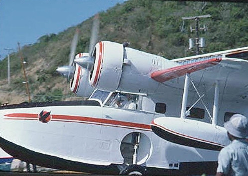 Capt. Dave Howard  training flight from STT