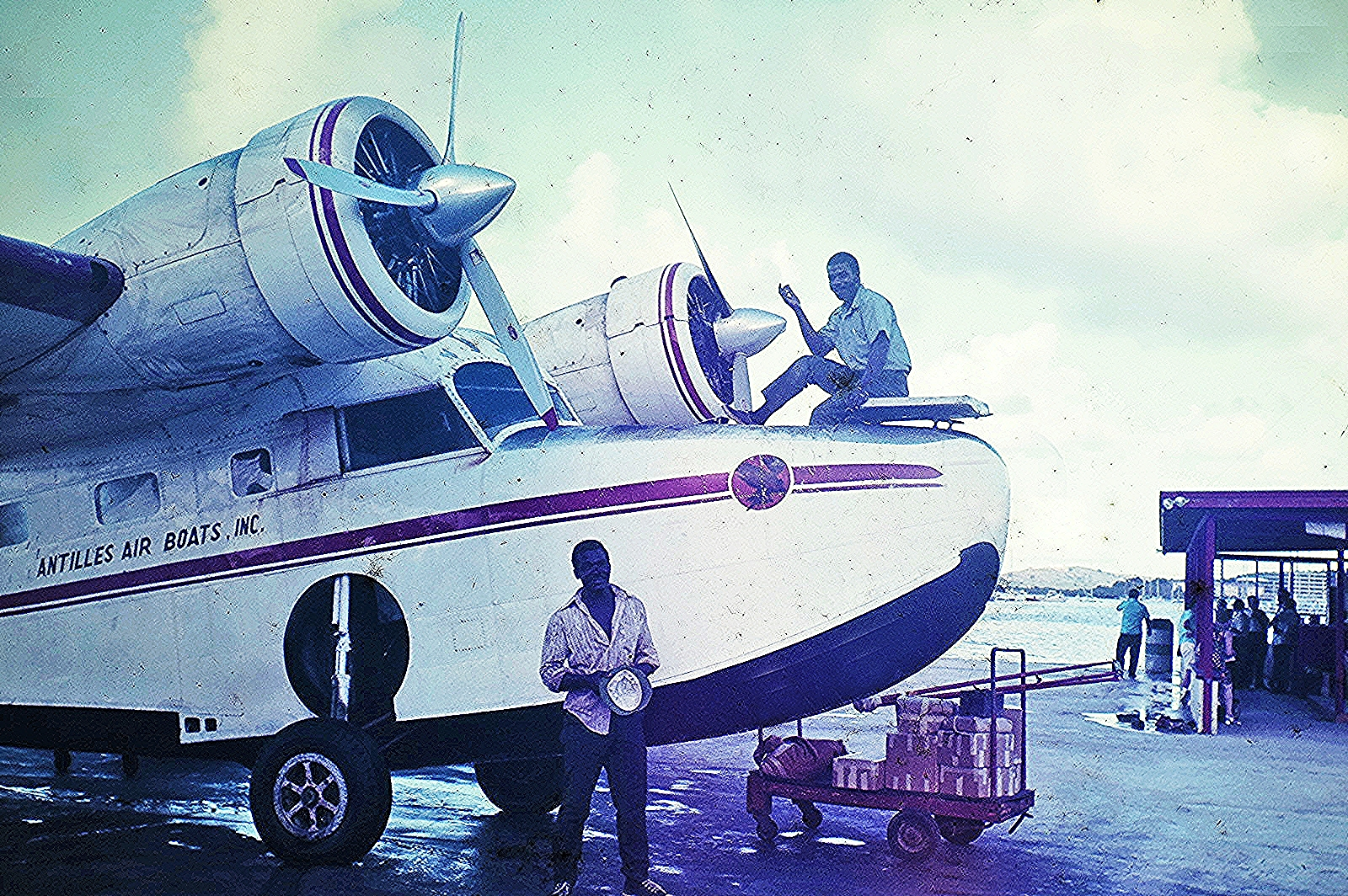 Antilles Grumman Goose - 044a