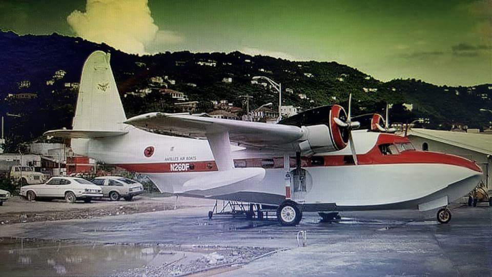 G73 N26DF - Mallard at STT station