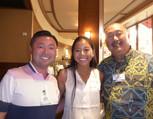 Ryan Nagata, Keila Baladad & Pat Kozuma
