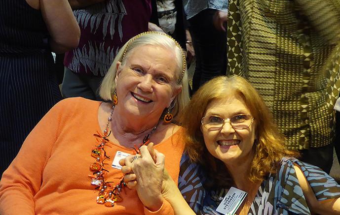 Mary Lou Lewis & Susan Stevenson