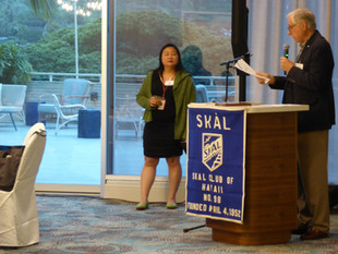 Tom Anusewicz reports on club finacials and its Young Skal Program