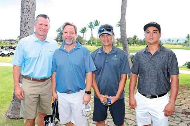Scott Ingwers, Rob Robinson, Glenn Vergara and Jason Nam
