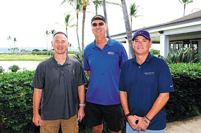 Wes Kawakami, Joel Johnson and John Dailey