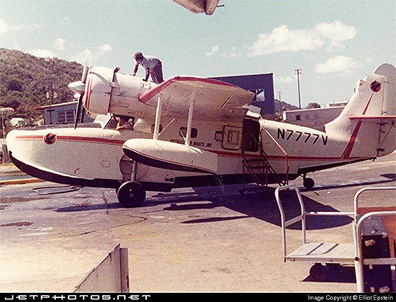 Goose N7777V in St. Thomas