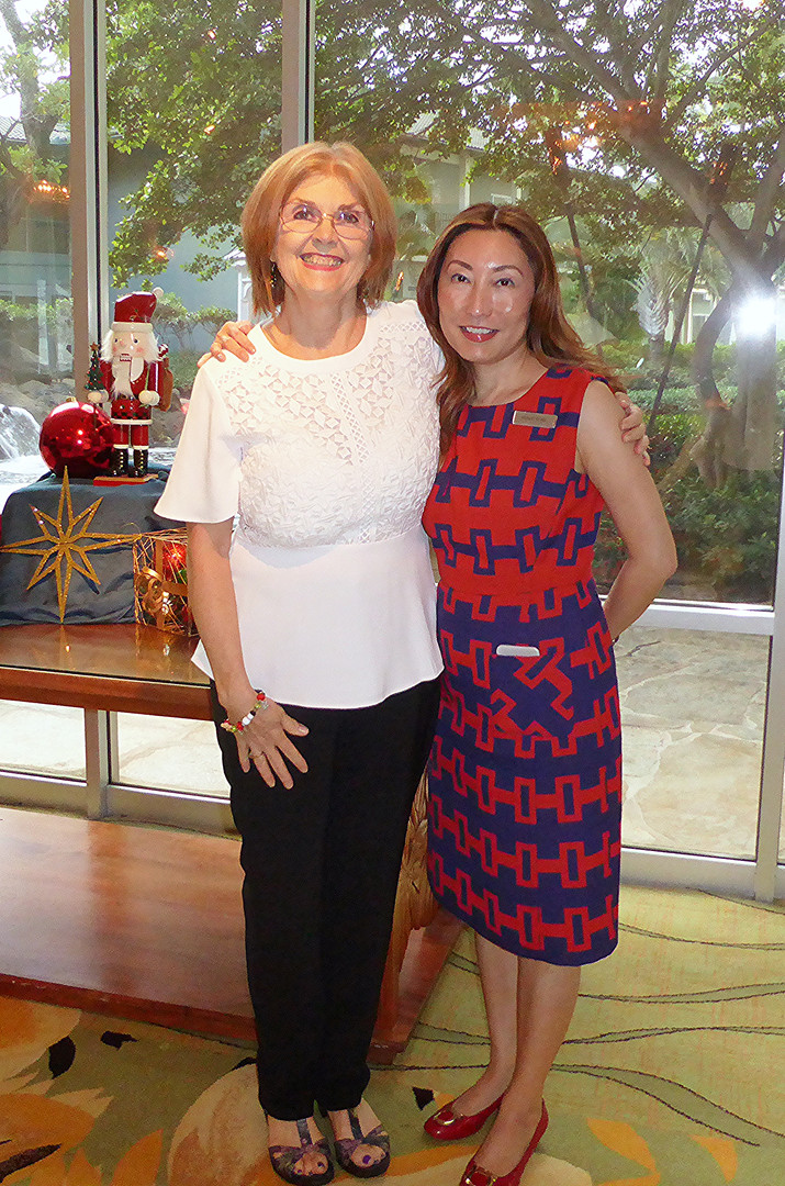 Susan Stevenson & Grace Chan, Director of Catering and Conference Services