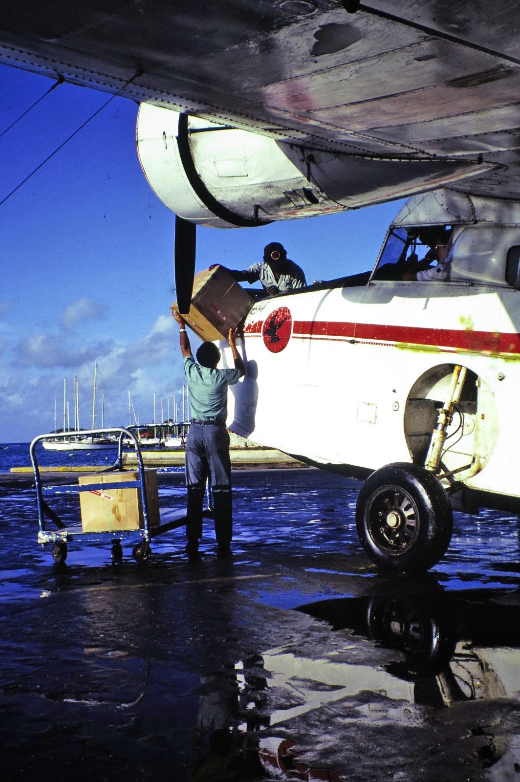STX Goose cargo loading