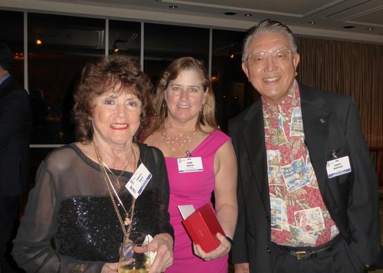 Valarie & Pam Davis and Daryl Matsuo