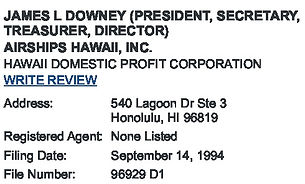 James Downey Profiles in CA, FL, HI, MA,