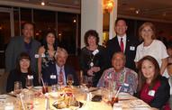 seated; JoAnn & Dan Bayne and Dean & Holly Nakasone, standing Chris & Robin Estrada, Valerie Davis, Brian Chun and Susan Stevenson