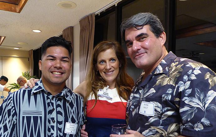 Kulana Salera, Stacey Martin & Peter Holt