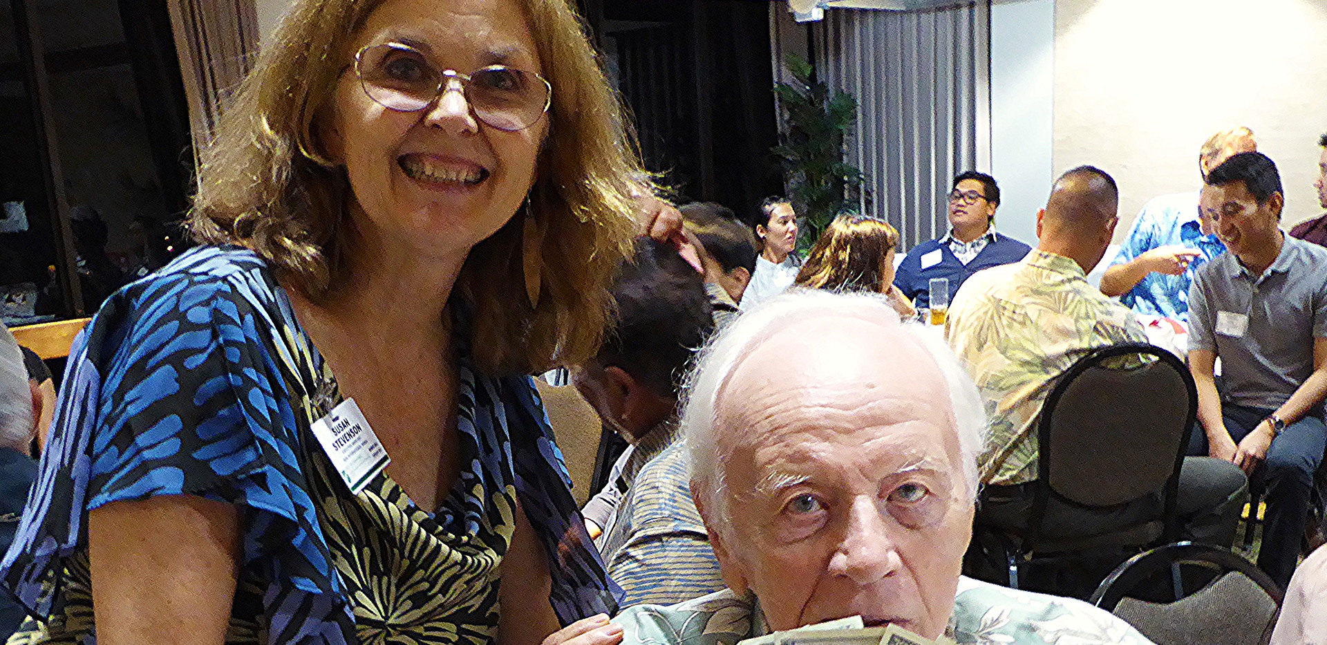 Susan Stevenson & Peter Fithian
