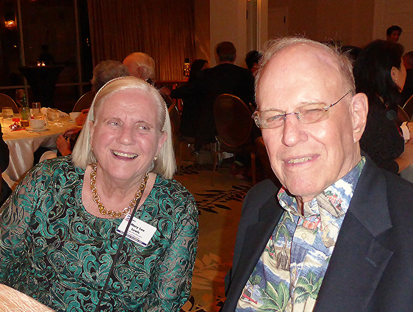 Mary Lou & Peter Lewis