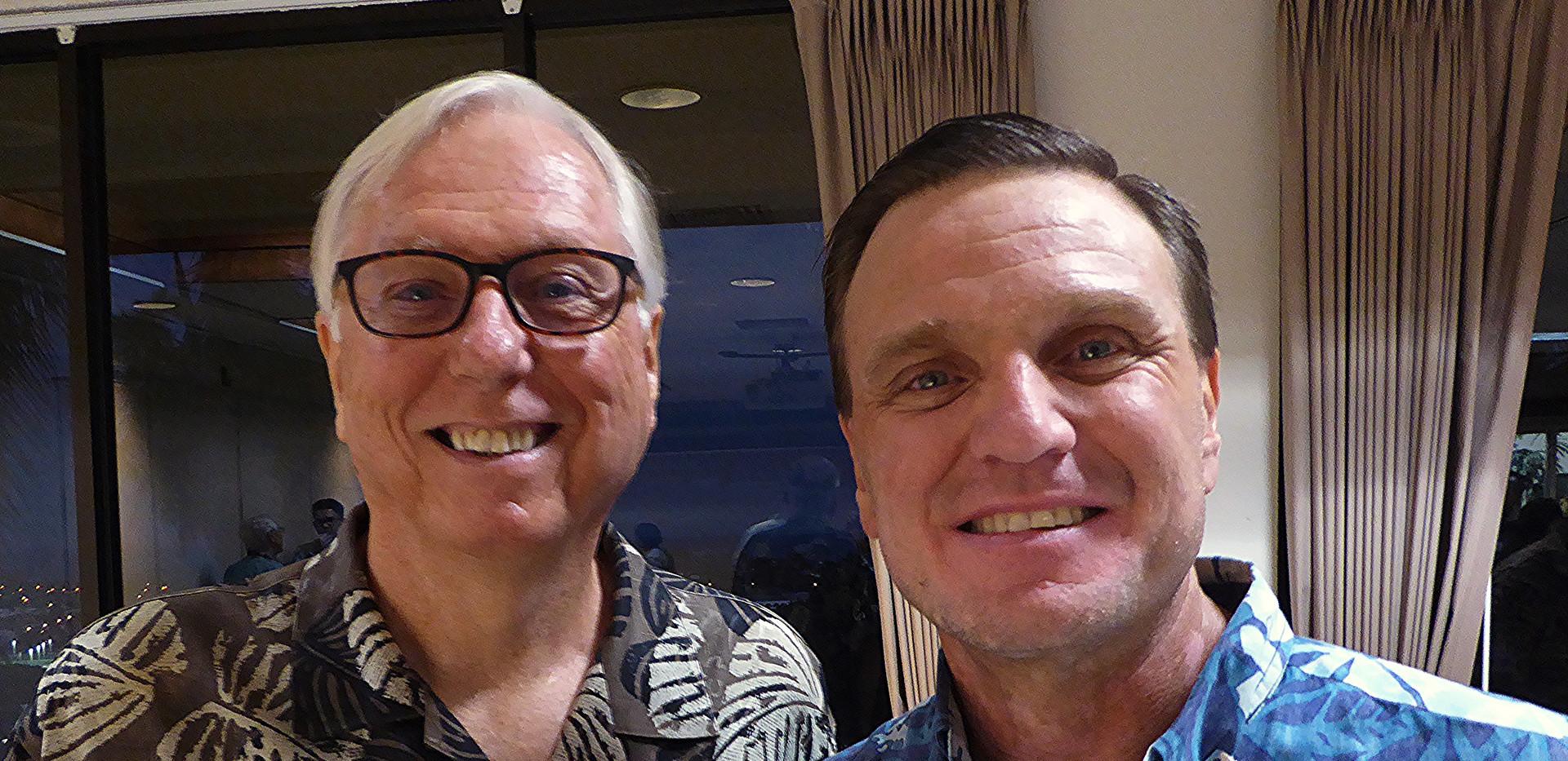 Tom Anusewicz & Greg Brossier