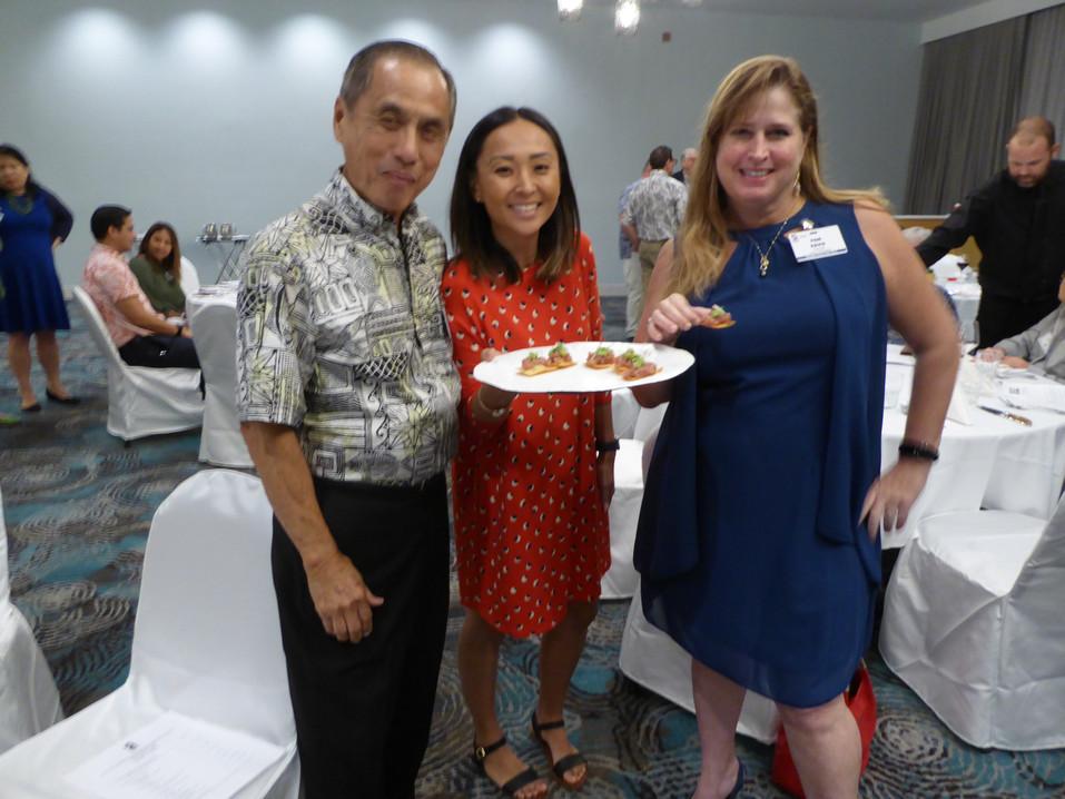 Cal Lui, Sharilyn Kazunaga & Pam Davis
