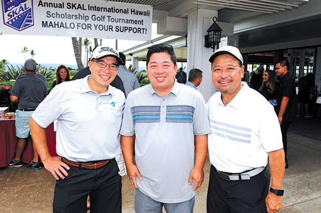 Ed Chung, Nick Yamane and Gerald Shintaku