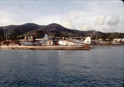 STX Seaplane Ramp - Early morning, before the flights begin. I would take my boat out along with my