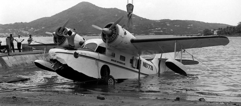 N8777A Goose accident May 1971