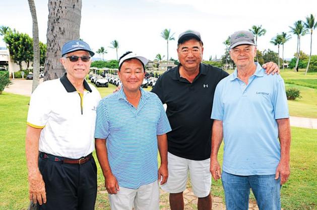 Phil Sammer, Steve Koyama, Deems Narimatsu and George Correi