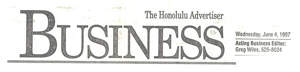 Honolulu Advertiser 6-4-97 Biz  LEAD2.jp