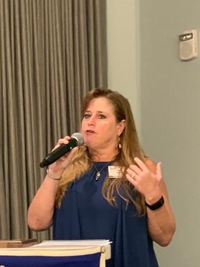 Pam Davis reports on Membership and upcoming NASC 2019.
